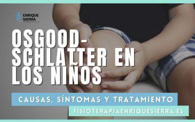 Osgood-Schlatter: dolor de rodilla en niños (SOLUCIONES)