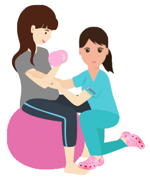 Clases de gimnasia para embarazadas en Zaragoza con Fisioterapeuta Beatriz Sierra