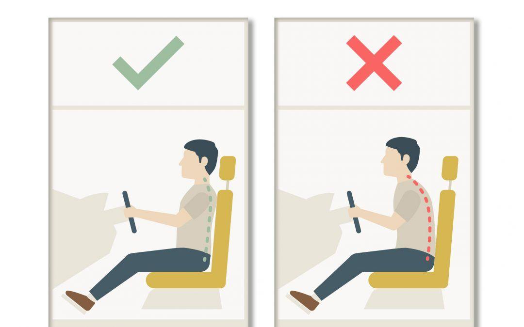 La importancia de una buena postura al volante