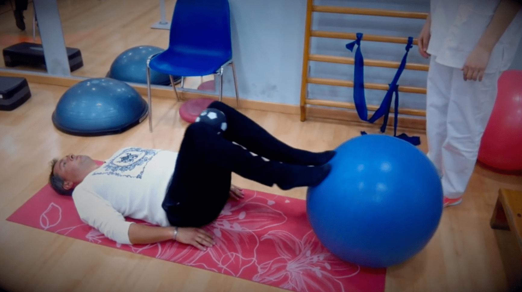 Ejercicios de estabilización lumbar Fisioterapia Enrique Sierra Fisioterapeuta Zaragoza