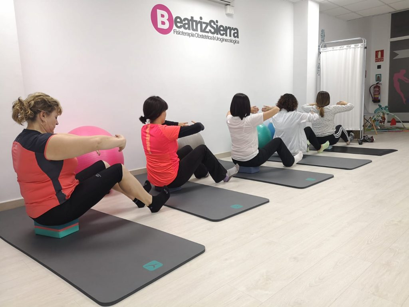Clases de Hipopresivos y Pilates en Zaragoza Beatriz Sierra