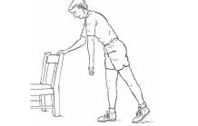 Ejercicios de estiramientos para hombro Fisioterapia Enrique Sierra Fisioterapeuta Zaragoza