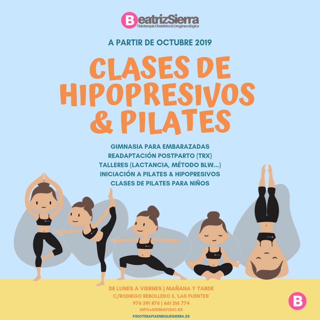 Clases de iniciación al Pilates en Zaragoza Fisioterapia Enrique Sierra Fisioterapeuta Zaragoza