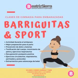 Clases de gimnasia para embarazadas en Zaragoza