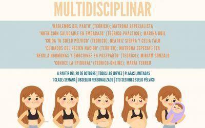 Ciclo de preparación al parto multidisciplinar