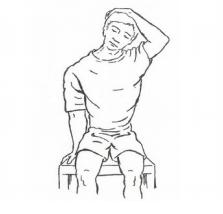 Quitar dolor cervicales con estiramientos