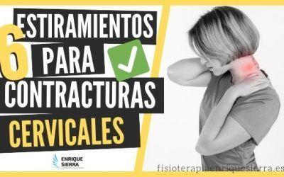 6 estiramientos para contractura cervical: dolor de cuello