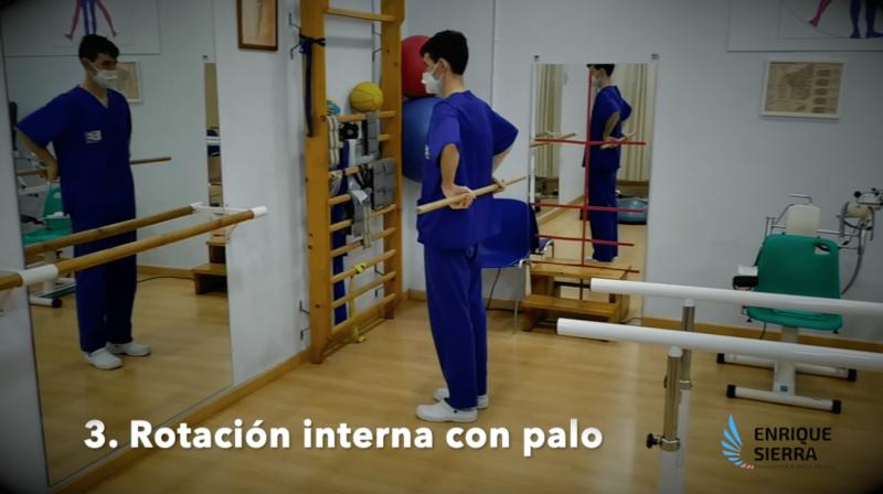 Capsulitis en el hombro dolor alivio tratamiento ejercicios