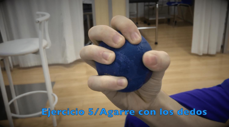 Ejercicios para fractura de muñeca agarre dedos
