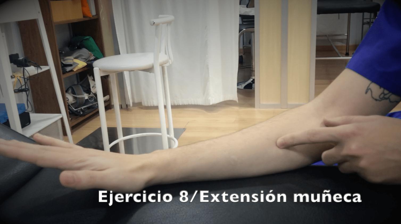 Ejercicios para fractura de muñeca extension muñeca