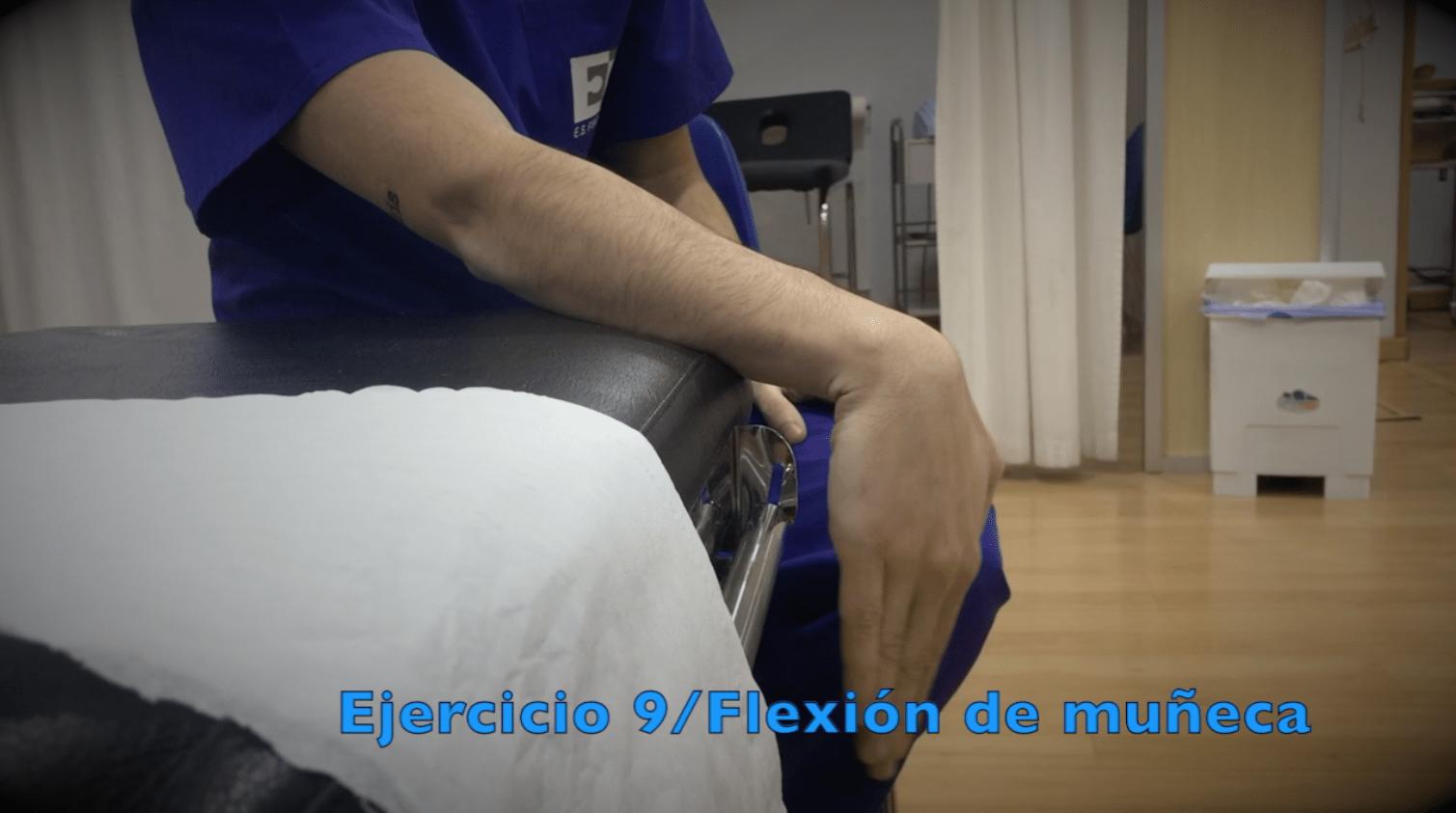 Ejercicios para fractura de muñeca flexion muñeca