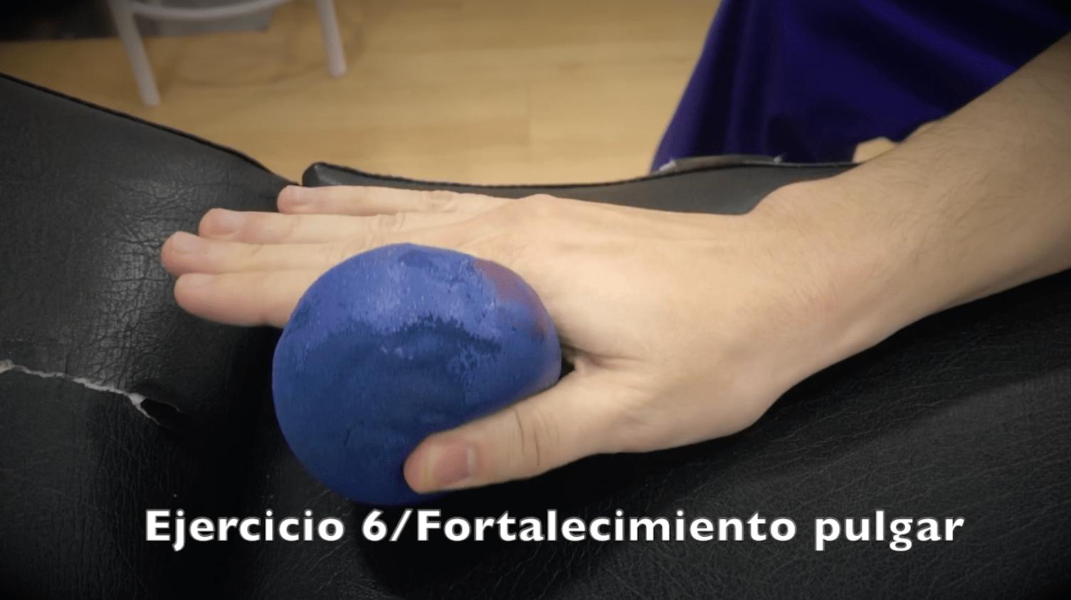 Ejercicios para fractura de muñeca fortalecimiento pulgar fisioterapeuta enrique sierra
