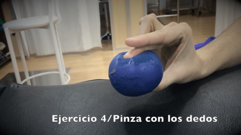 Ejercicios para fractura de muñeca pinza dedos