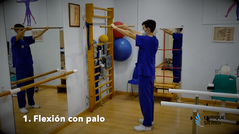 Ejercicios para Bursitis en el hombro para hacer en casa Fisioterapeuta en Zaragoza